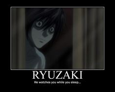 """Ryuzaki poster- Death Note by Clive4everLegal.deviantart.com on @deviantART THAT""""S COOL WITH ME"""