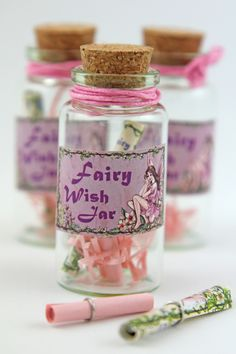 Fairy wish jar   The Little Things