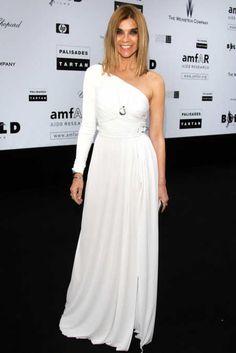 5.21.09  Carine Roitfeld in Emilio Pucci F09 (Look 32) and Alaïa heels at 2009 amfAR gala