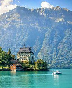 Iseltwald, na Suíça