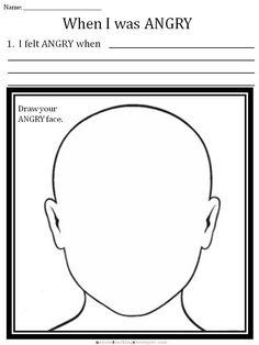 CBT Children's Emotion Worksheet Series: 7 Worksheets for Dealing with Anger | AutismTeachingStrategies.com
