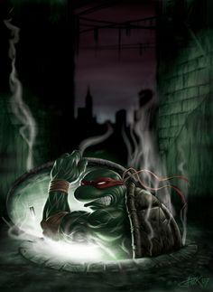 Raphael - TMNT - Titanbolzen.deviantart.com