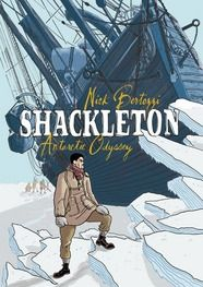 Shackleton: Antarctic Odyssey by Nick Bertozzi: A graphic novel chronicling Shackleton's adventurous (and failed!) expedition to cross Antarctica.