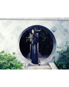 cici xiang model7 Cici Xiang Enchants for Stockton Johnson in Harpers Bazaar Vietnam