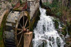 Water Mill in Livadia Greece