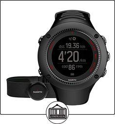 Suunto Ambit3 Run HR - Reloj de carrera GPS, unisex, color negro de  ✿ Relojes para hombre - (Gama media/alta) ✿
