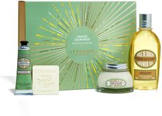 LOccitane Delicious Almond Gift Collection Bath Body Sets And