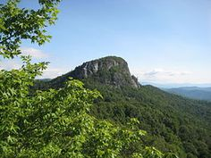 Table Rock in North Carolina a wonderful place to hike