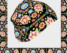 My elegant and fashionable slouch beanie lined hat adorned with my colourful, luxe look pattern, Brocade Mandala, is a great item to wear for skiing, running, at a nightclub or as a fashion forward addition to your wardrobe. This design was originally hand painted in watercolour on paper by yours truly Maine artist Patricia Shea.  The luxe brocade look is achieved by pattern layered on pattern - Lotus Mandala over Westminster Mandala - detailed and delicious!  It is available in adult, youth…