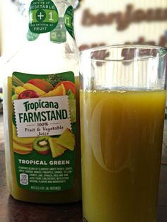 Tropicana Farmstand Tropical Green Gives You 1 Serving of Fruit + 1 Serving of Veggies #Giveaway #FarmstandGreen - Divine Lifestyle