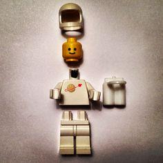 Classic Space LEGO minifig #LEGO #minifig
