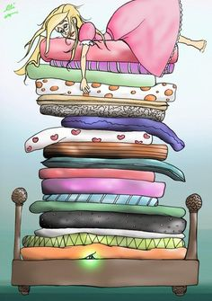 Princess And The Pea by Oli [©2013]