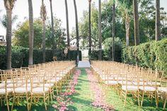 California Wedding: A Pink And Gold Beauty Part 2 - MODwedding