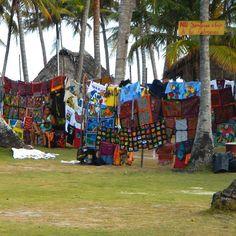 Die wundervollen Arbeiten der Kuna auf Isla Aguja 12.01.2015