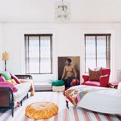 Brooklyn apartment of Alayne Patrick, designed by Alayne Patrick, photo by Melanie Acevedo, as seen in Domino Magazine