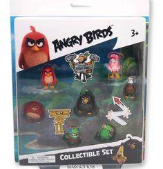 Angry Birds Movie 2016 Mini Figure Multi Pack Set (7 Piece) #Commonwealth
