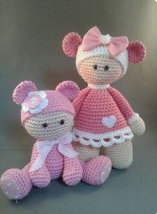 Crochet Doll Clothes, Knitted Dolls, Crochet Dolls, Crochet Doll Pattern, Crochet Patterns Amigurumi, Amigurumi Doll, Crochet Gifts, Cute Crochet, Knit Crochet