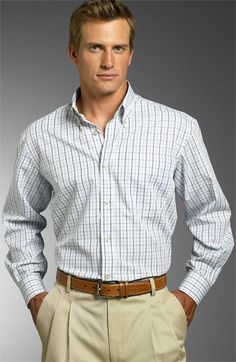 James Tattersall Woven Sport Shirt available at #Nordstrom