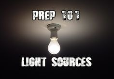 A guide to light sources and purposes.