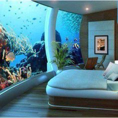 Underwater Bedroom by US Submarines Structures .... I STILL would LOVE to stay here but am not at all sure I could sleep! 8-) #I'mSUCHachild!