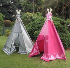 Awesome TeePee handmade SEWING PATTERN Instant Download wonderful outside or inside kids tent, tipi, tepee or wigwam. - Sewing Patterns at Makerist