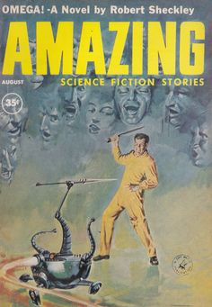 Amazing Science Fiction. August 1960