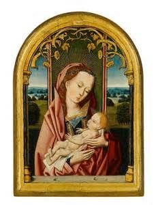Jan Provoost (Bergen-Mons, Henegouwen 1465 - Bruges 1529) ,The Madonna ...