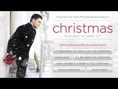 """Michael Bublé--  """"Christmas"""""""