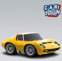 ¡Hoy novedad en Top Gear en Car Town: el Lamborghini MiuraSV! Visita el estudio de Top Gear para ver un video del programa que presenta el Miura, ¡y entonces agrega este súper auto clásico italiano para tu taller Car Town! ¡Ve por el tuyo mientras puedes!