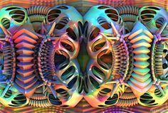 Untitled 3d fractal Mandelbulb 3d Paul Griffitts