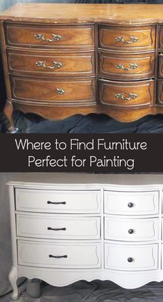 Where To Buy Used Furniture Perfect For Painting