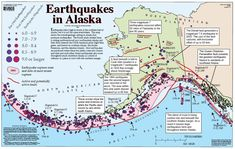 Earthquakes in Alaska, USGS