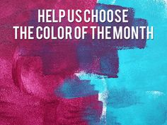 Help Us Choose HGTV's January 2015 Color of the Month  - Vote Now!