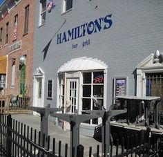 Hamilton's, Washington DC    Badger Bar!