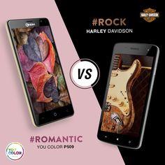 Animo #romantico con lo #YouColor #P550 o spirito #rock con lo smartphone #HarleyDavidson ? Distinguiti e scegli il tuo stile unico con #NGM