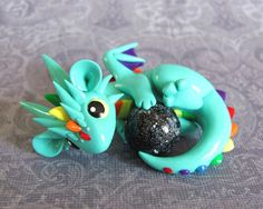 Aqua Rainbow Dragon