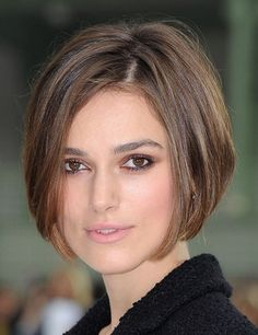 Too many times the most beautiful women have long hair. But I think a short and natural hairstyle like Keira Nightley in 2011 is more attractive. If you have a face like that it's nice to frame it!!