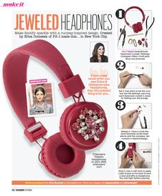 P.S.- Pick up a copy of TrendingNY's September issue and make a pair of Jeweled Headphones #DIY #PSIMADETHIS #TrendingNY
