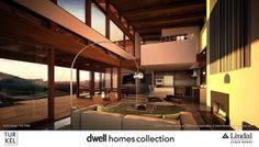 Loves me the Coast Modern look...Interior by Lindal Cedar Homes, via Flickr