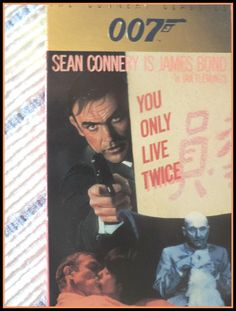 You Only Live Twice Sean Connery 1967 VHS MGM by ForHerEarsOnly