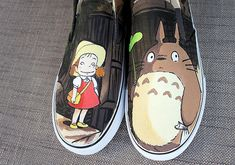 Totoro - Wear Your Pride With These 22 Anime Shoes