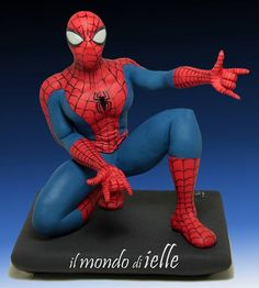 Edible Art, Spider Man | Il mondo di ielle - Top4cake