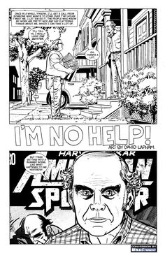 4c98d0f607dec.jpg (1074×1650)  Harvey Pekar shares his daily life in American Splendor in all it's grit and detail. Harvey documents his fame and his bout with cancer.