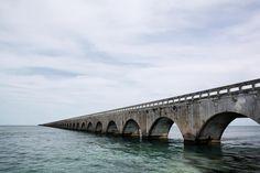 Seven Mile Bridge - Marathon Keys - Florida.