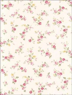 Shabby Floral Wallpaper - Trailing Pink Flower, Chic Country Cottage, Farmhouse Bedroom, Botanical Bathroom - Sold By The Yard Embossed Wallpaper, Paper Wallpaper, Rose Wallpaper, Wallpaper Samples, Pink Wallpaper For Kitchen, Pink Wallpaper House, Flowery Wallpaper, Wallpaper Borders, Baby Wallpaper