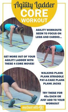 agility ladder core workout