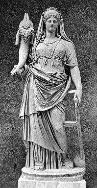 Goddess Fortuna in Vatican