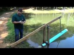 """Amazing 3 Part DIY Video : Generate """"Usable"""" Power from a Pond, Lake or your Water Source 