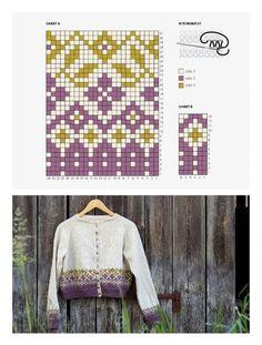 Вязание: Для женщин   ♛ Lina Neva   Простые схемы. Экономим время на Постиле Fair Isle Knitting Patterns, Fair Isle Pattern, Knitting Charts, Knitting Socks, Knit Patterns, Hand Knitting, Crochet Woman, Knit Crochet, Hand Dyed Yarn