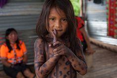 Embera Girl - Choco, Colombia